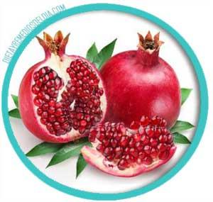 Desparasitante natural con granada frutal
